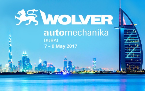 Wolver Lab GmbH auf der internationalen Messe Automechanika Dubai 2017.
